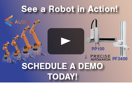 Schedule a Collaborative Robot Demo Today