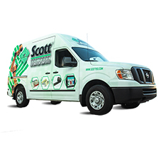 Scott Equipment Company Demonstration Van