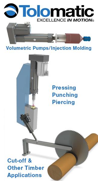 Tolomatic Electric Actuators Applications