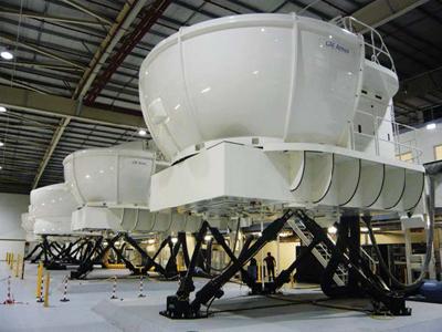 Tolomatic Electric Actuators in Flight Simulator