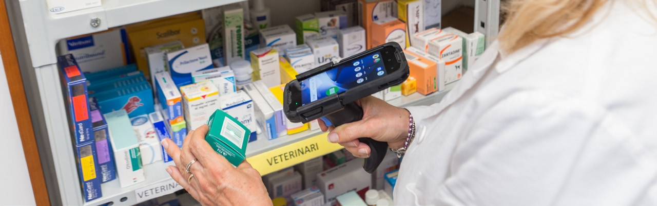 Datalogic Handheld Devices in pharmacy